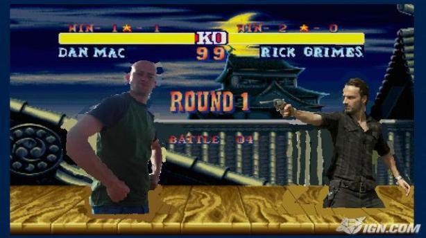 dan mac vs rick grimes